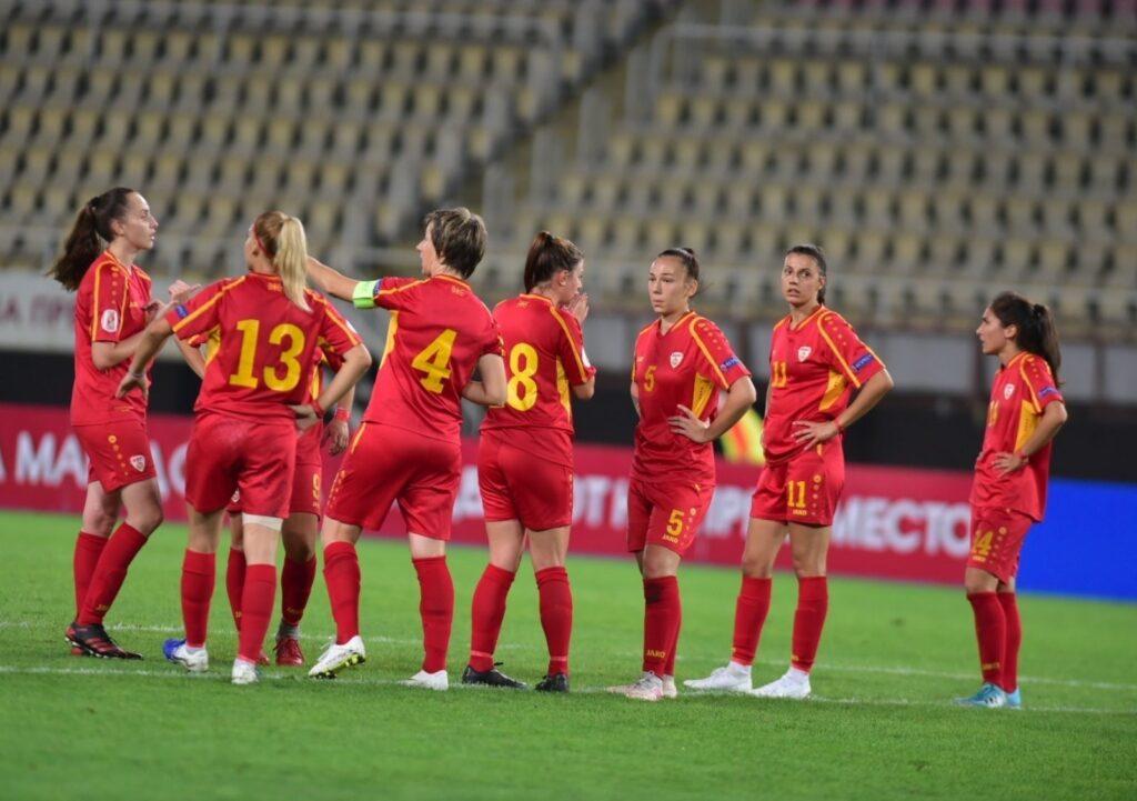Македонските фудбалерки со пораз од Англија ги почнаа квалификациите за Мундијалот