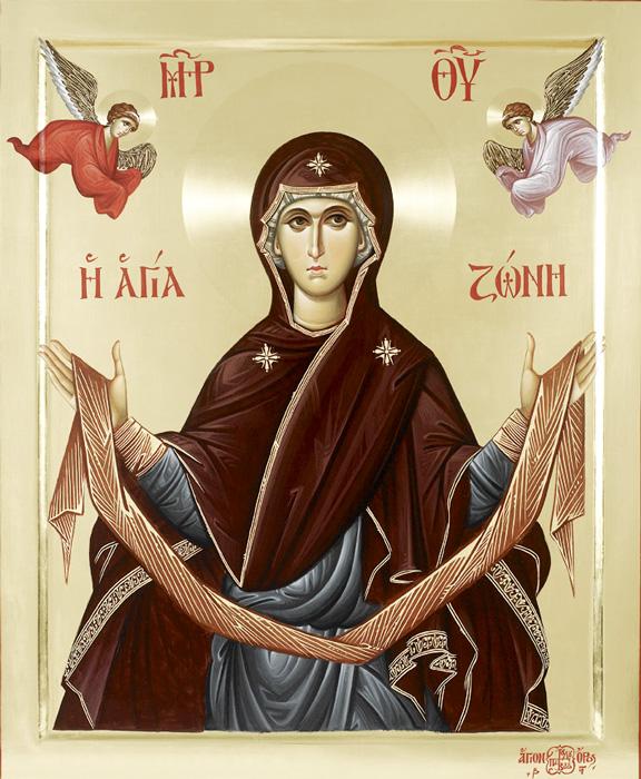 ПОЈАСОТ НА МАЈКАТА БОЖЈА: По успението Пресвета Богородица му го даде својот појас на апостолот Тома