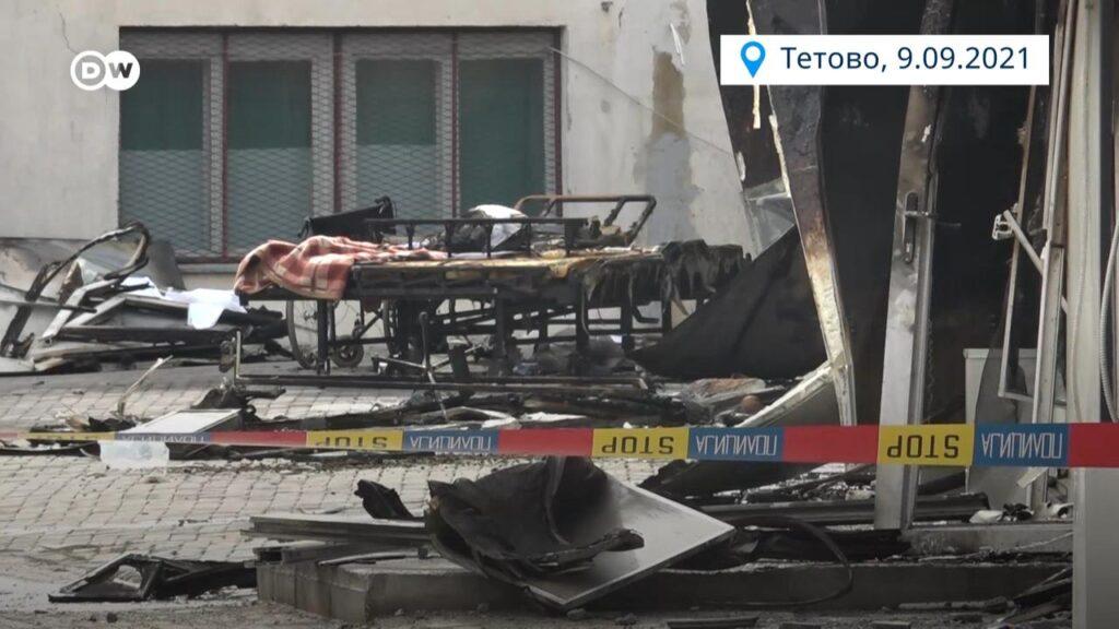 Одбиен предлогот за формирање анкетна комисија за пожарот во Тетово, опозицијата обвинува дека власта бега од одговорност