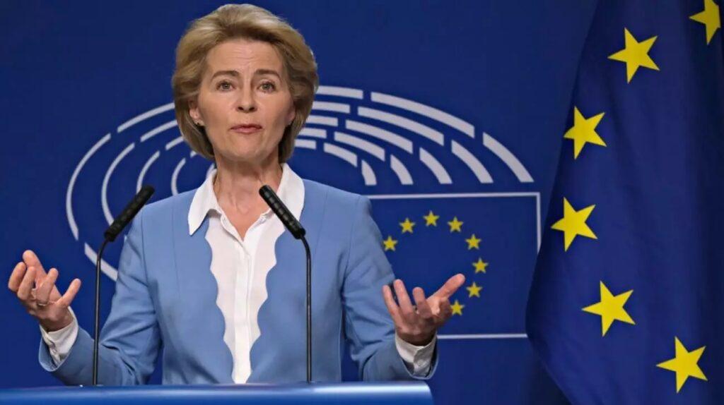 Урсула фон дер Лајен ќе се обрати пред Европскиот парламент за предизвиците на ЕУ