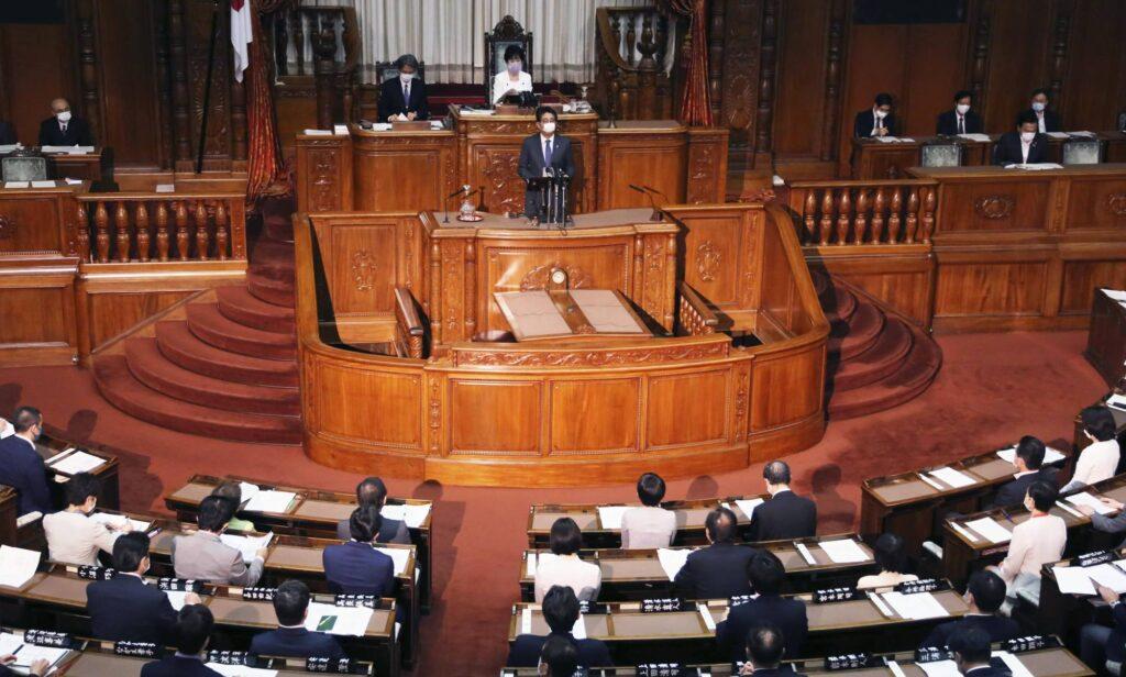 Јапонија го распушти парламентот, оди на избори на крајот на октомври